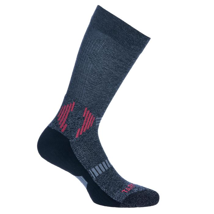 CHAUSSETTES BASKETBALL HOMME/FEMME JOUEUR CONFIRME MID 500 CHINE - 1418548