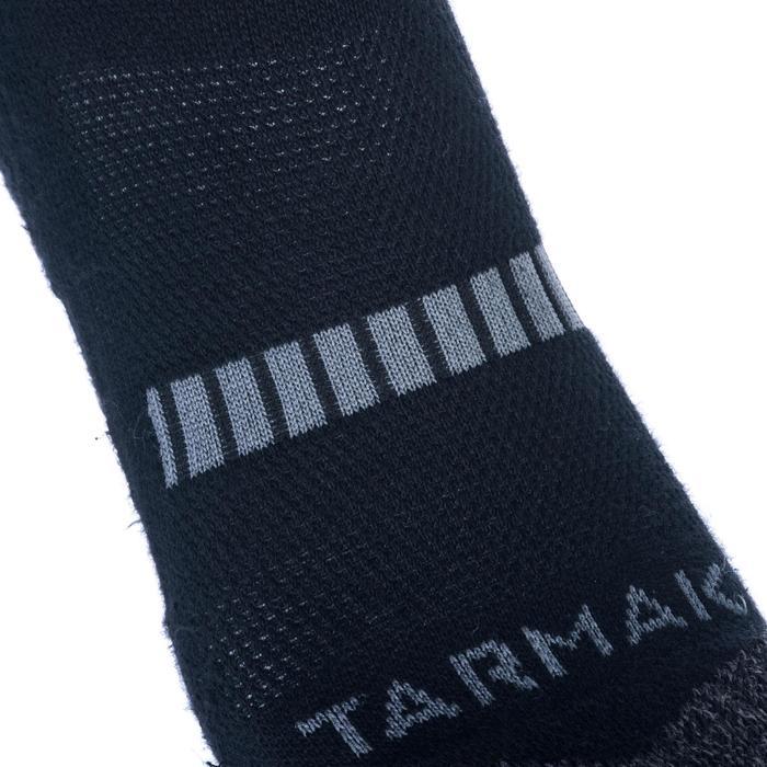 Set van 2 paar basketbalsokken Tarmak heren/dames Mid 500 zwart - 1418550