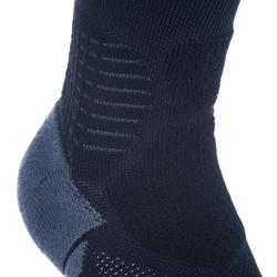 SO900 Mid Advanced Adult Basketball Socks - Black / Grey