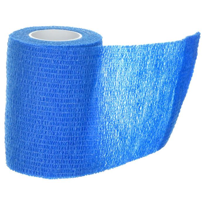 Bande cohésive repositionnable 7,5 cm x 4,5 m bleue - 1418626
