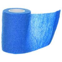 Venda cohesiva reposicionable 7,5 cm x 4,5 m azul