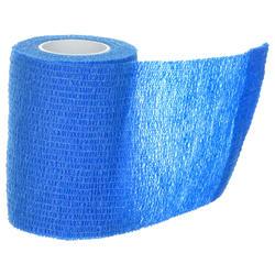 Bande de maintien cohésive repositionnable 7,5 cm x 4,5 m bleue