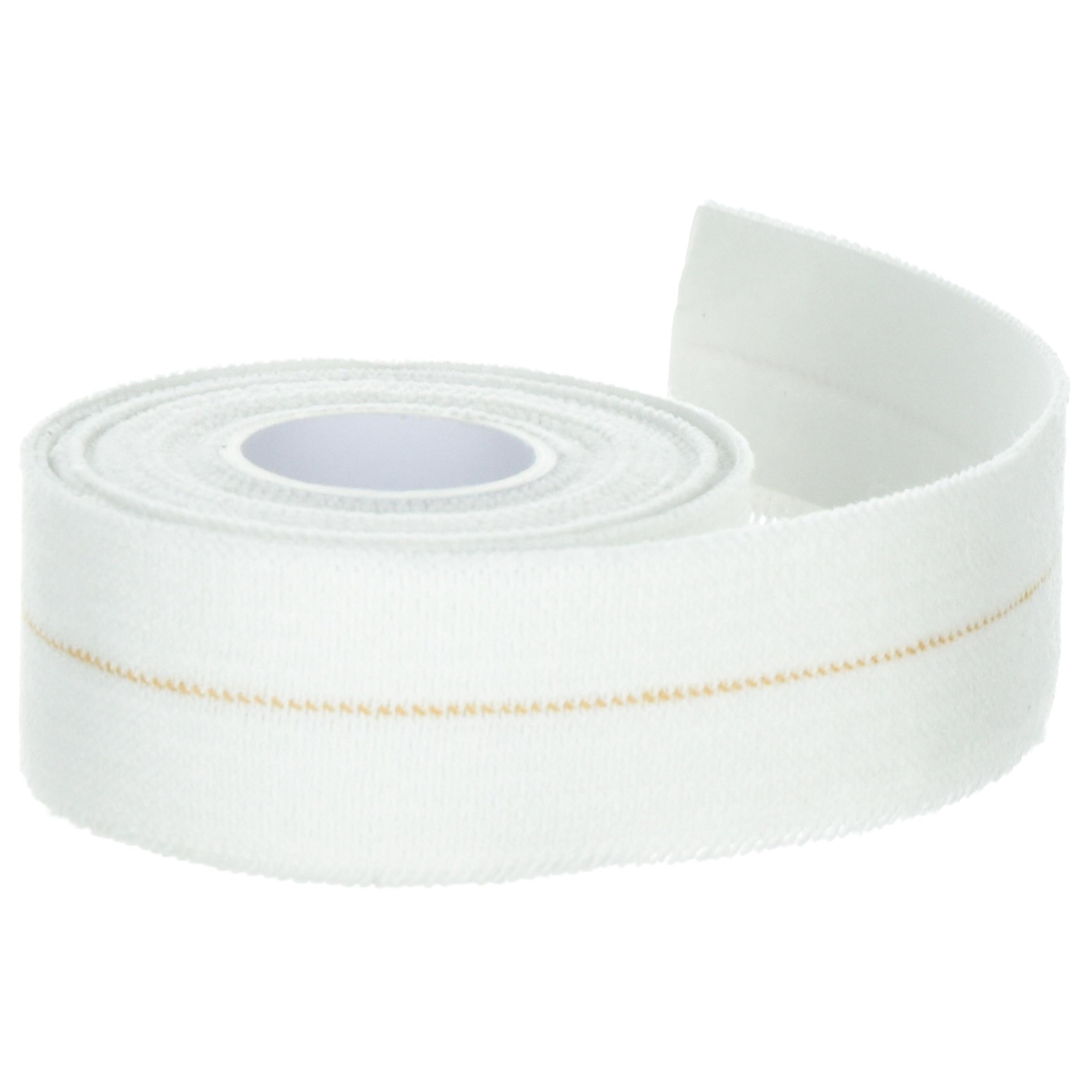 Bande élastique 3 cm x 2,5 cm blanche pour tous vos bandages de maintien.