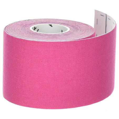 5 cm x 5 m Kinesiology Support Strap Pink