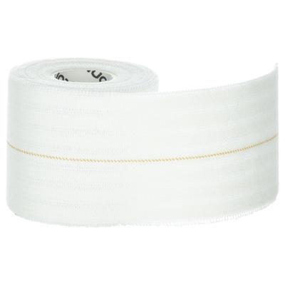 """רצועת תמיכה אלסטית 6 ס""""מ x 2.5 מ' - לבן"""