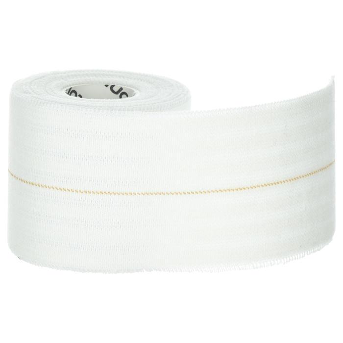 Elastische tape 6 cm x 2,5 m wit voor ondersteuning.