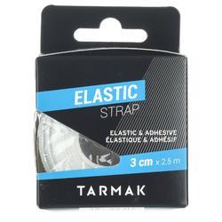 Elastische tape (3 cm x 2,5 m, wit)