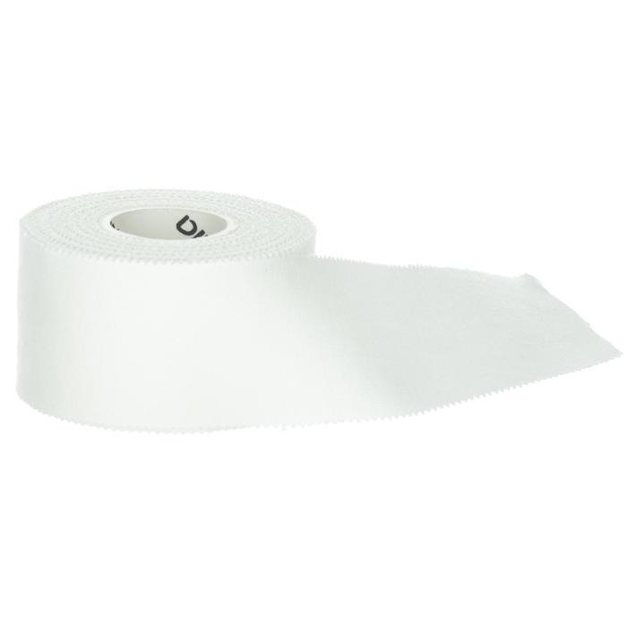 Stijve sporttape voor strappings wit