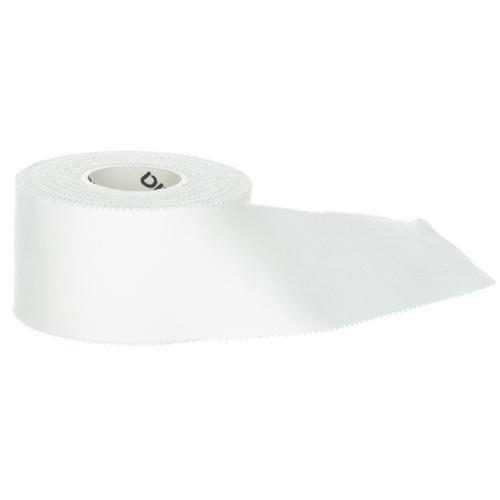 Bande strap non élastique rigide collante blanche