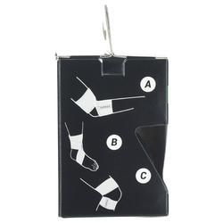Bande réutilisable 6 cm x 0,9 m noire