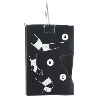 Bande de maintien réutilisable 6 cm x 0,9 m noire
