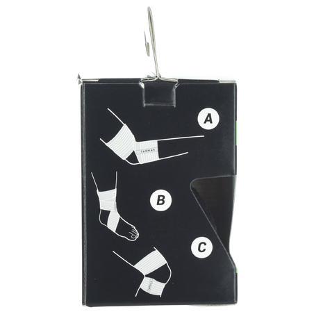 Venda de sujeción reutilizable 6 cm x 0,9 m negra