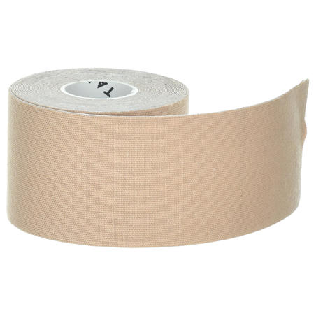 5 cm x 5 m Kinesiology Support Tape Beige