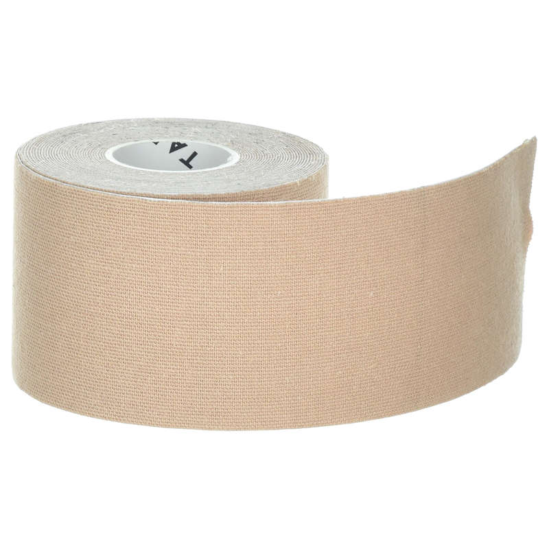 JOINT / MUSCLE SUPPORTS Recovery and Injury - Kinesiology Tape - Beige TARMAK - Supports Straps and Tape