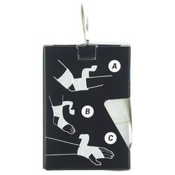 Bande élastique 6 cm x 2,5 m blanche pour vos bandages de maintien.