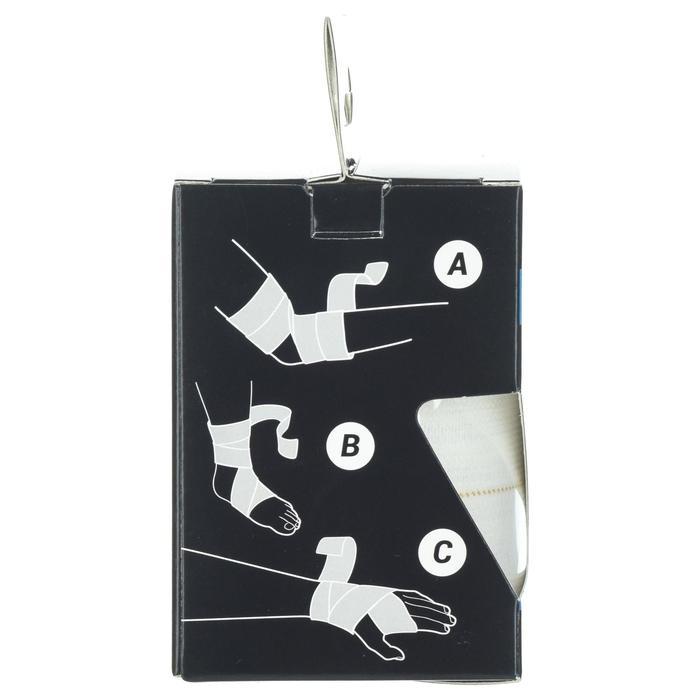 Bande de strap élastique 6cm x 2,5m blanche pour tous vos strapping de maintien.
