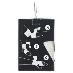 Elastisches Sporttape 6cmx2,5m stützend weiß