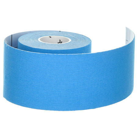 5 cm x 5 m Kinesiology Support Strap Blue