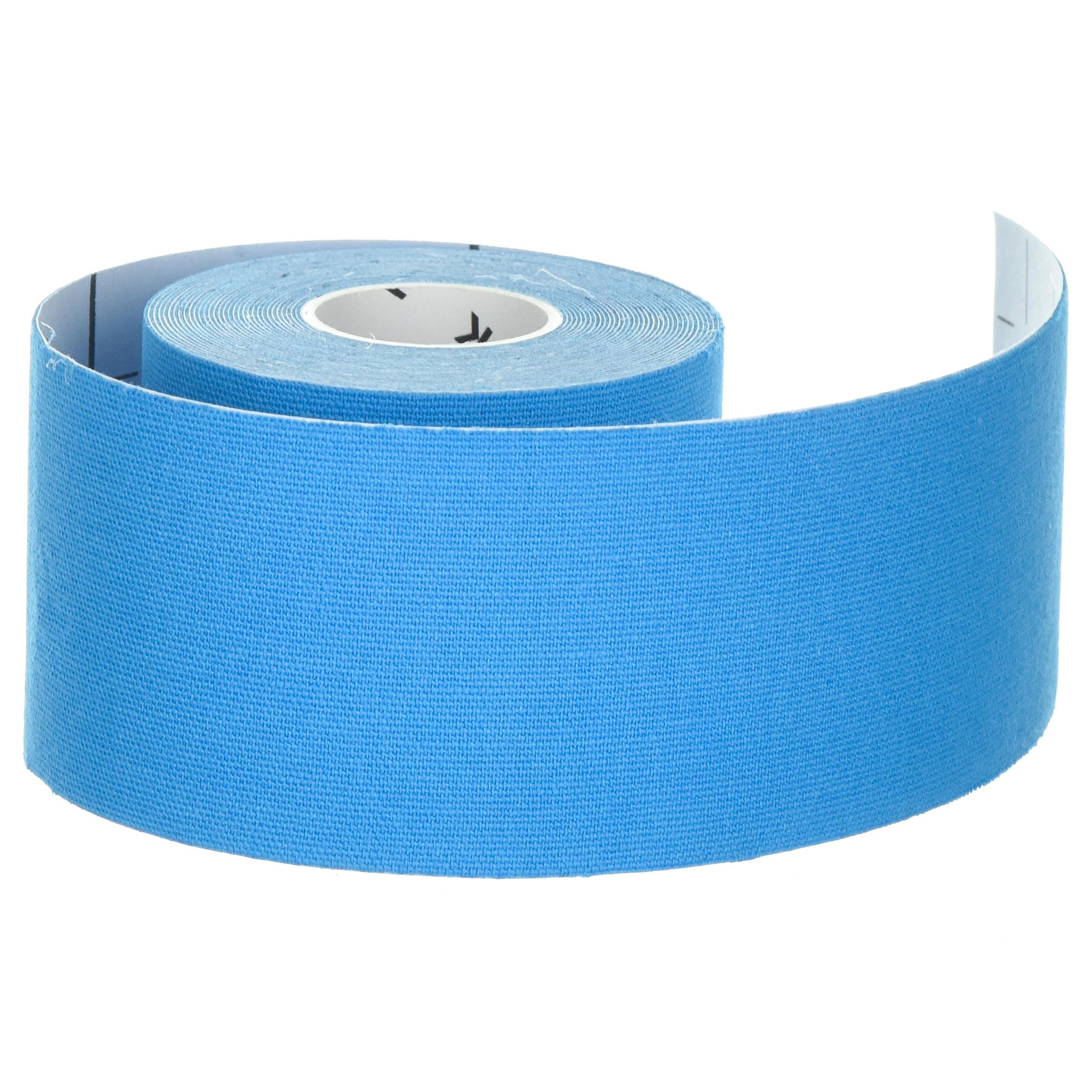 Venda Kinesiología 5 cm. x 5 m. Azul