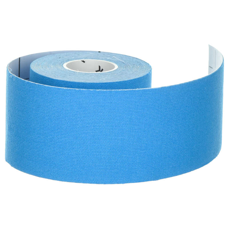 JOINT / MUSCLE SUPPORTS Recovery and Injury - Kinesiology Strap - Blue TARMAK - Supports Straps and Tape