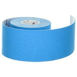 Bande de kinésiologie/kinesio tape 5 cm x 5 m bleu