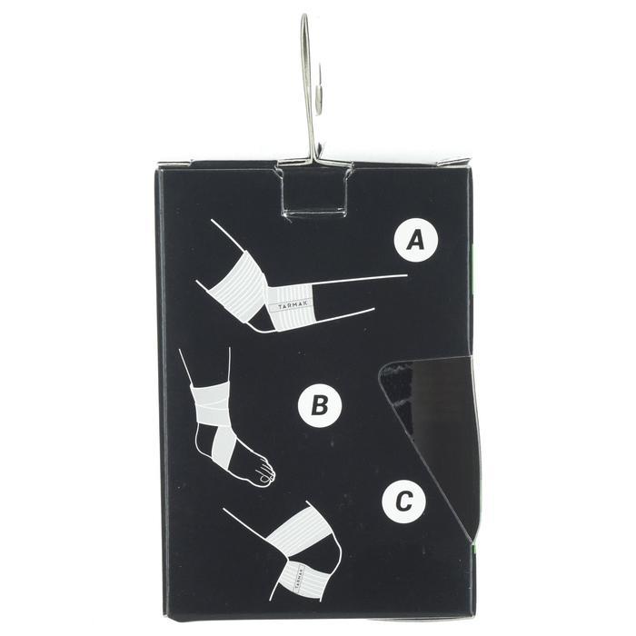 Bande réutilisable 8 cm x 1,2 m noire - 1418646