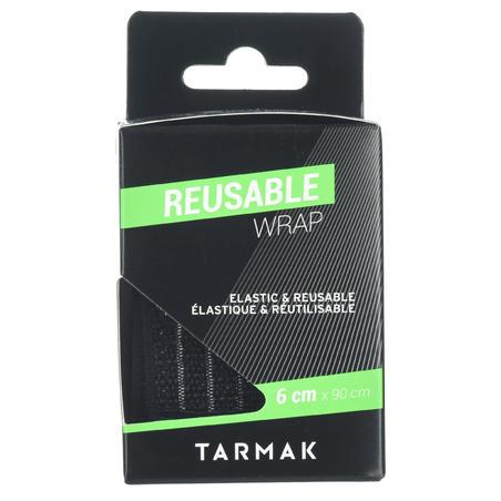 6 cm x 0.9 m Reusable Support Strap - Black