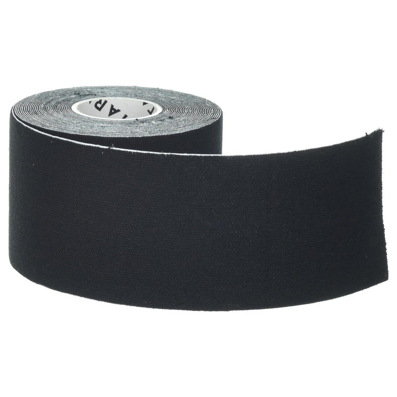 5 cm x 5 m Kinesiology Support Strap Black