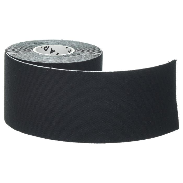 5 cm x 5 m Kinesiology Support Strap - Black