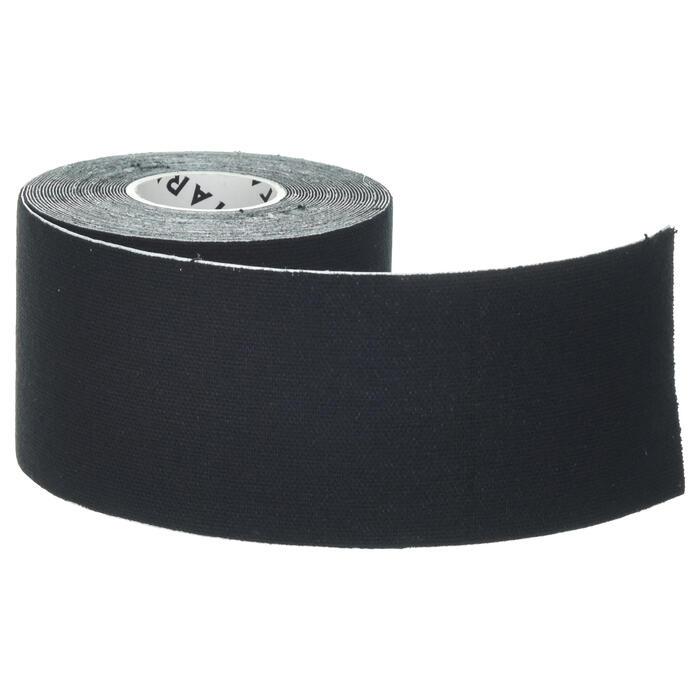Tape Kinesiologie 5 cm × 5 m schwarz