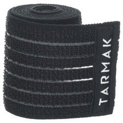 Elastisches Sporttape wiederverwendbar 6cm × 90cm schwarz