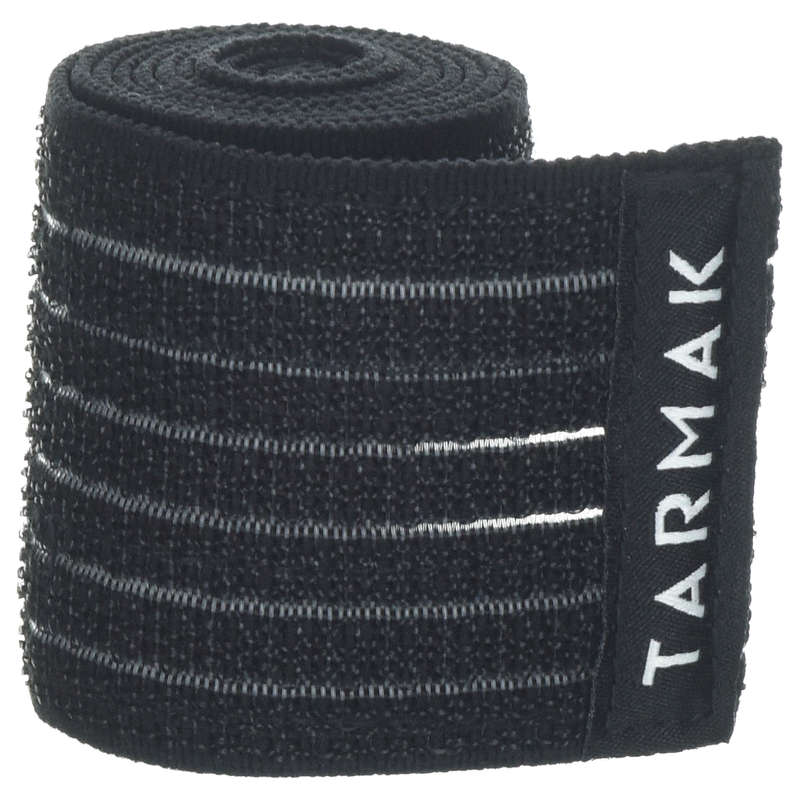JOINT / MUSCLE SUPPORTS Recovery and Injury - Reusable Strap 6 cm x 0.9 m TARMAK - Supports Straps and Tape