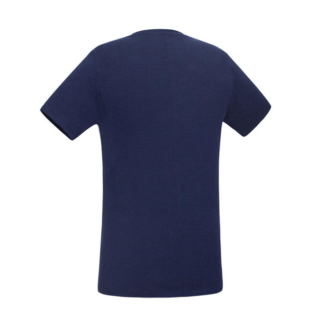 520 Slim-Fit Crew Neck Gym & Pilates T-Shirt - Dark Blue