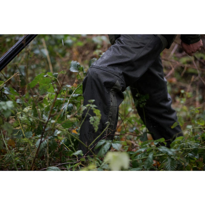 CUISSARD CHAPS CHASSE 500 VERT