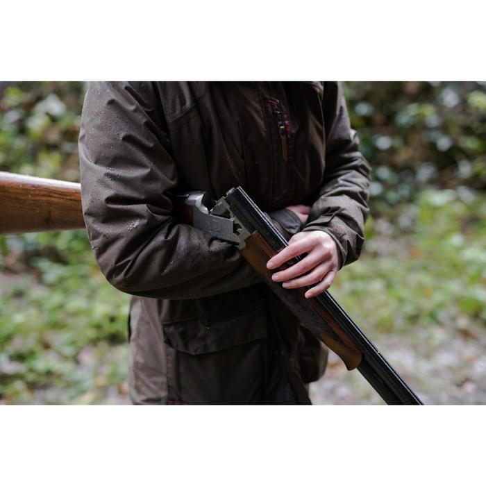 Jagd-Regenjacke Damen 500 braun