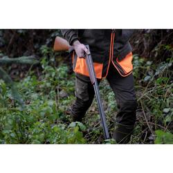 Pantalon Caza Solognac SGTR 520 Reforzado Bicolor Marrón