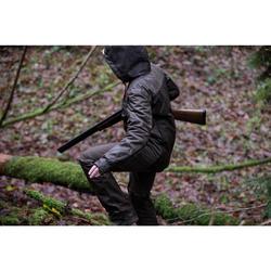 Jagd-Regenhose DAMEN 500 BRAUN