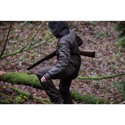 Pantalon Caza Solognac Imper 500 Mujer Reforzado Impermeable Marron