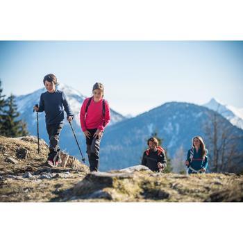 Polaire randonnée Forclaz 20 Fille Emeraud - 141898