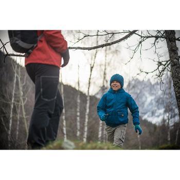 Gants en maille de randonnée junior SH100 warm roses - 141900