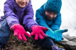 Tactiele kinderhandschoenen voor trekking Arpenaz 50 - 141901