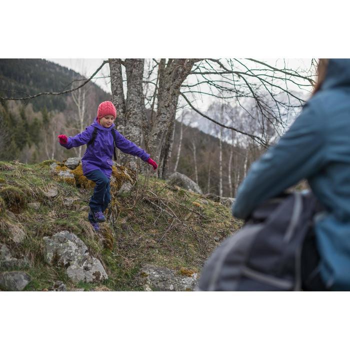Veste chaude imperméable randonnée fille Hike 100 - 141903