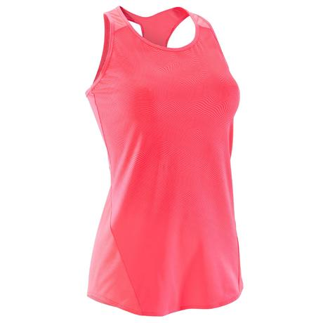 c4a5a4757e538 Débardeur fitness cardio-training femme rose nuancé 120
