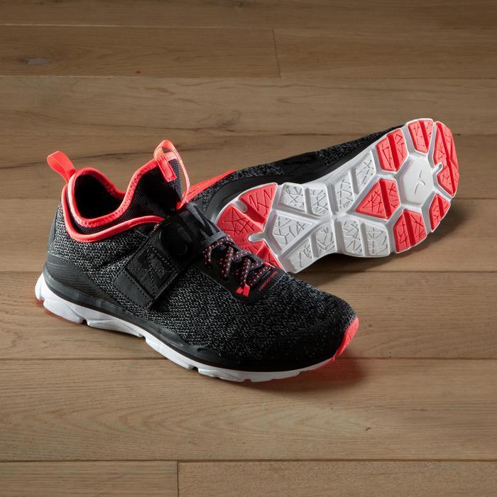 Chaussures fitness cardio-training  500 mid femme bleu et - 1419057