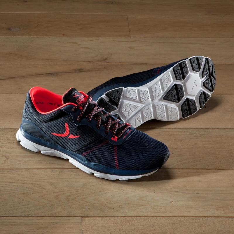 500 Domyos Training Cardio Fitness Mujer Zapatillas Y Azul Coral x1Rtqv6w 2c2a9cce16a8