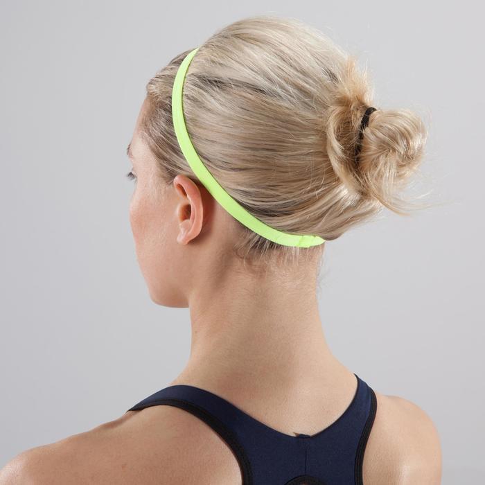 Bandeau élastique (lot de 3) fitness cardio-training femme rose et - 1419061
