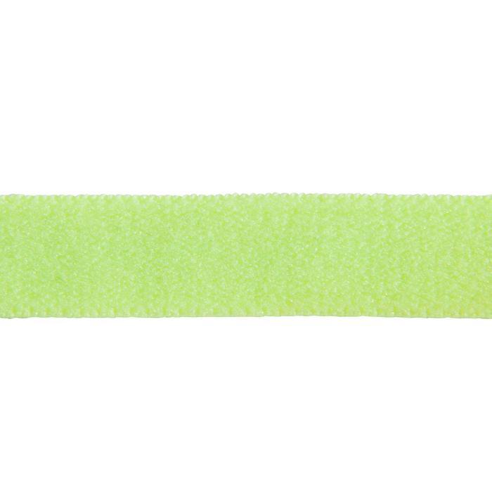 Bandeau élastique (lot de 3) fitness cardio-training femme jaune bleu et  noir 351a987f2c0