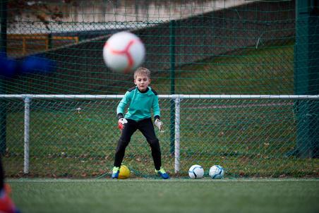 F100 Goalkeeper Bottoms Black - Kids'
