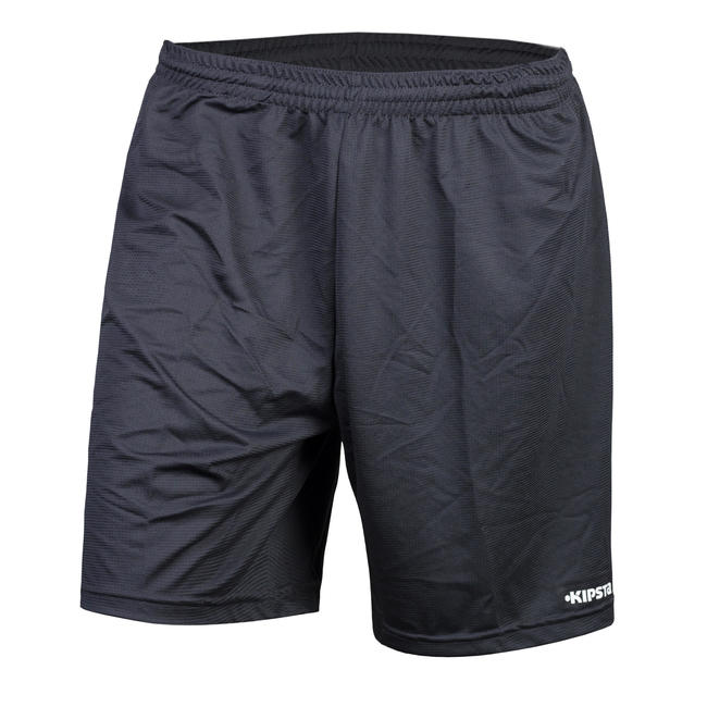 Kids' Football Shorts F100 - Grey