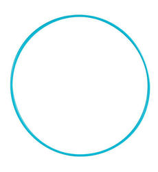 Rhythmic Gymnastics Hula Hoop 85 Cm - Turquoise